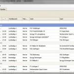Screenshot DFBSpielplan - Spielplanansicht